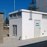 Zaměření skutečného provedení stavby čerpací stanice CNG v Plzni