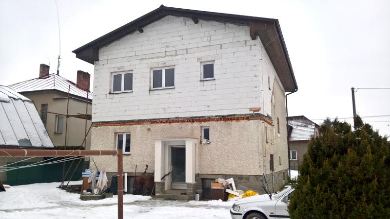 zaměření přístavby domu