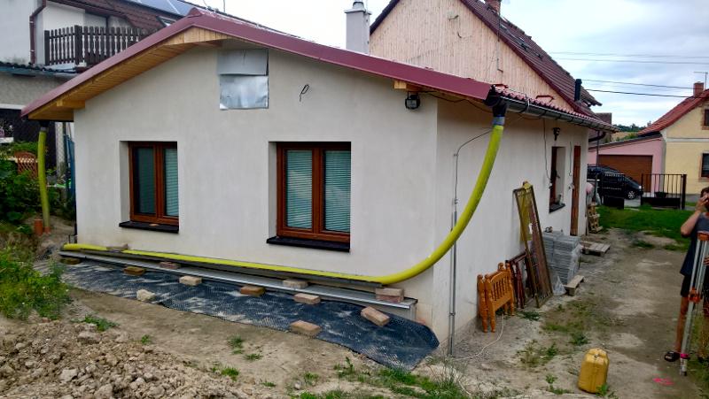 zaměření domu v Chotíkově