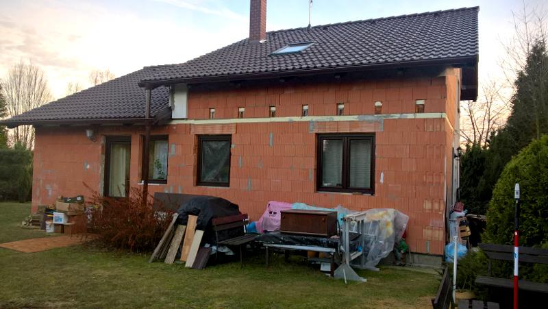 zaměření domu v Senci u Plzně
