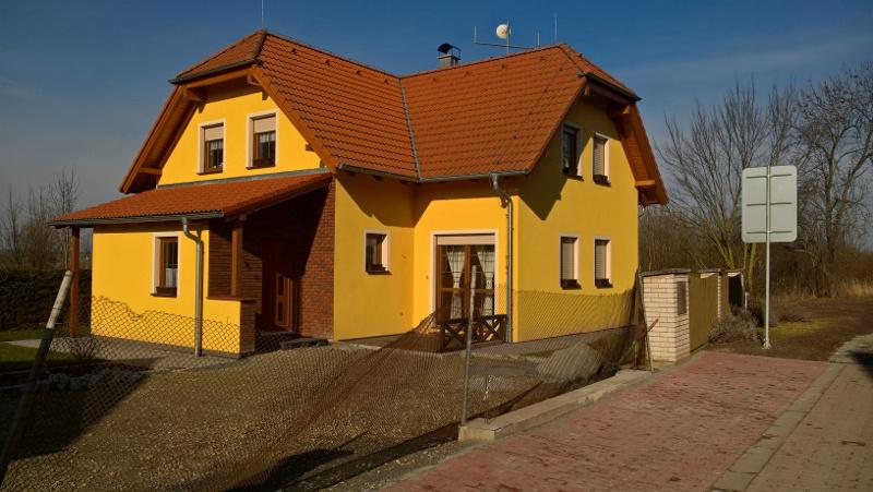Zamereni domu v Cerveny Ujezd u Zbuchu