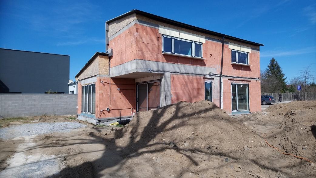 Zaměření domu ke kolaudaci v Plzni