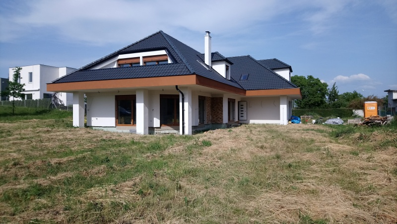 Zaměření domu ke kolaudaci v Praha